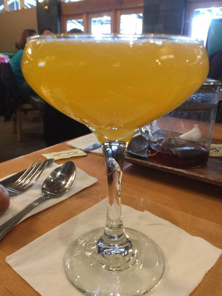 Kick off the week with mimosas!