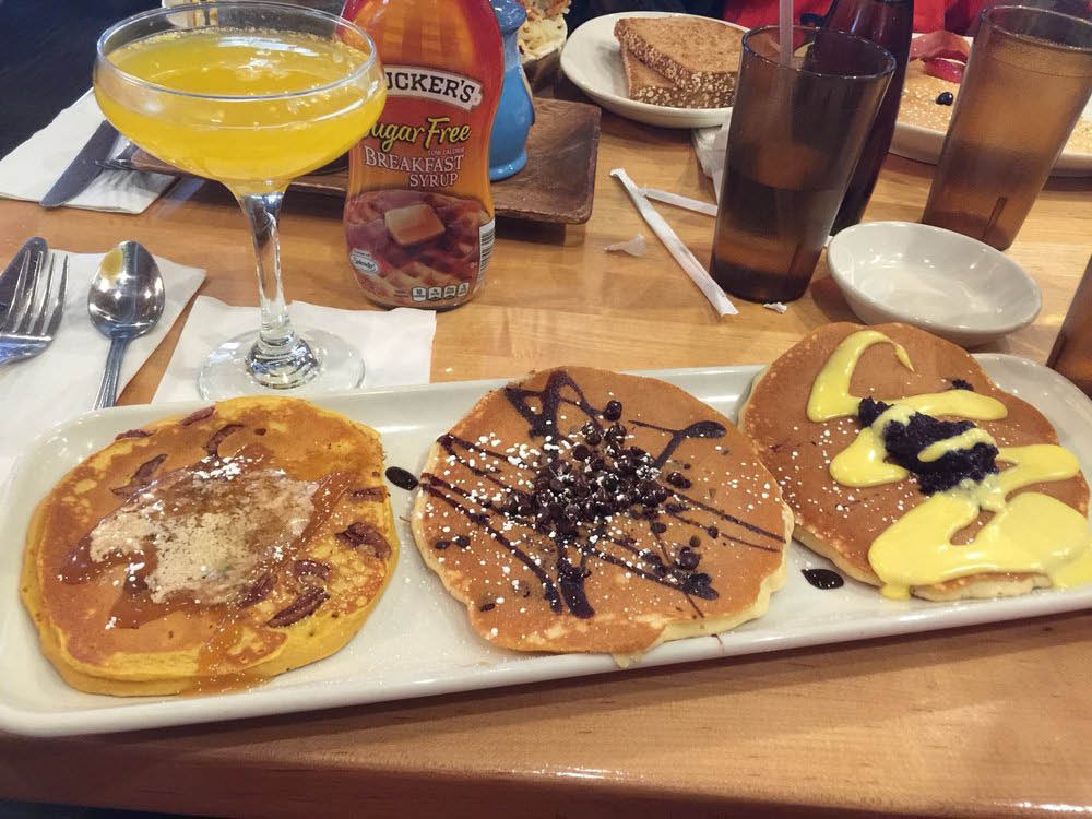Pancakes, crepes, skillets and much more at Grady's Snack N' Dine!