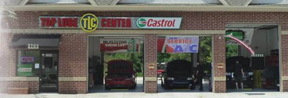 photo of exterior of Top Lube Center in Commerce, MI