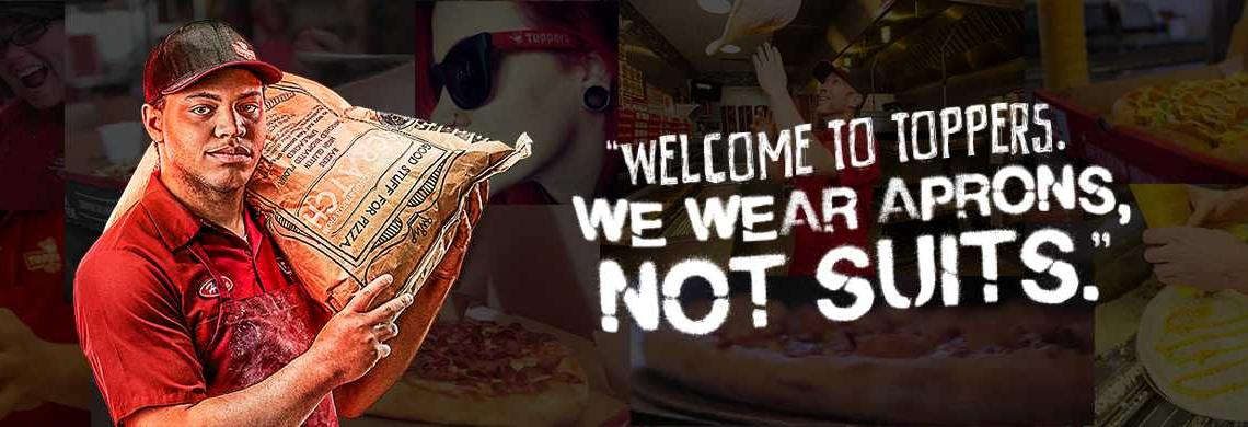 Toppers Pizza in Mission, KS banner