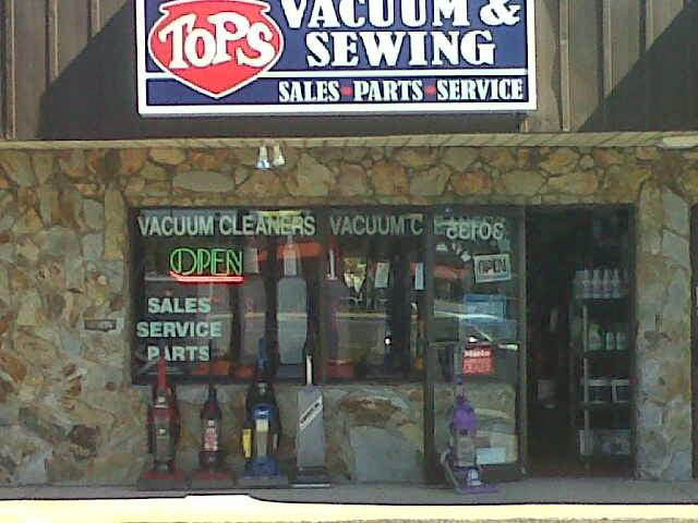 Tops Vacuum & Sewing sells house air filters plus vacuums & sewing machines