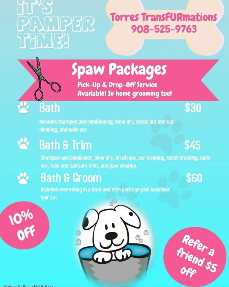 top dog grooming linden nj
