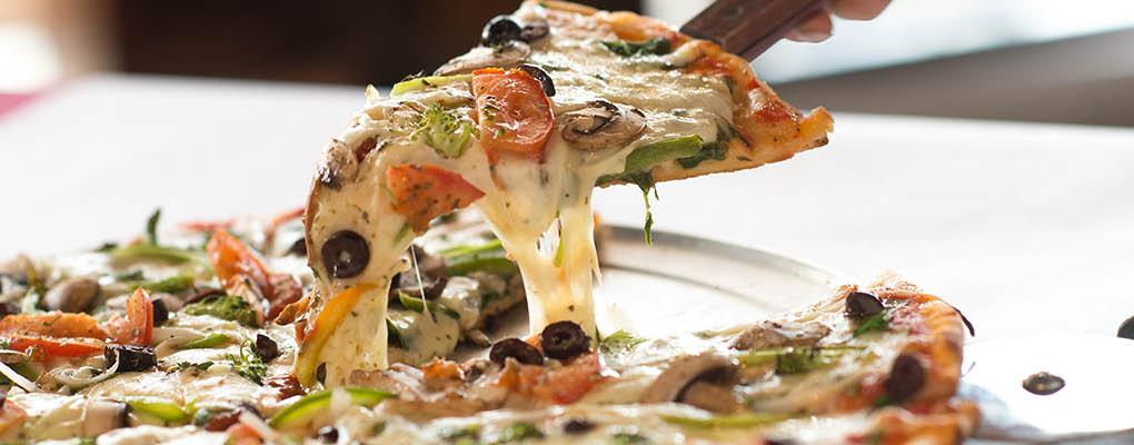Pizza Slice of Toscana Italian Restaurant in Arlington Heights, IL