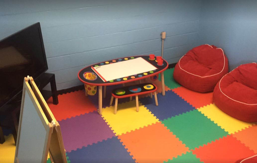 photo of kid's area at Total Car Care in Livonia, MI