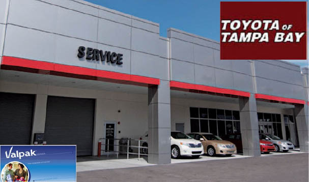 Toyota of tampa bay service center near me oil change coupons near me