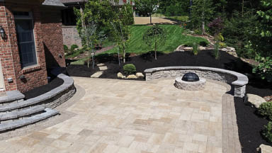 photo of outdoor patio from The Treesdale Landscape Company in Mars PA