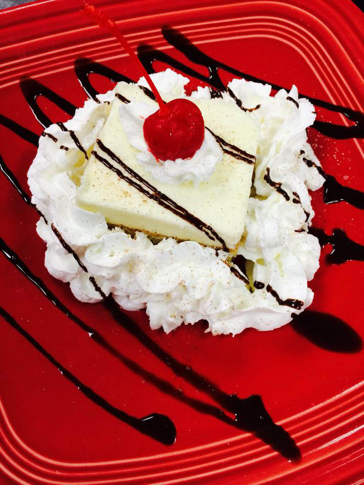 Cinco de Mayo Mexican Restaurant and Bar westminster and columbia, md  tres leches cake.