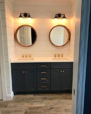 Bathroom countertops by Tri-State Stone & Tile, Inc in Rockaway NJ
