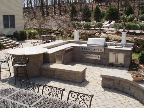 Outdoor Kitchens by Tri-State Stone & Tile, Inc in Rockaway NJ