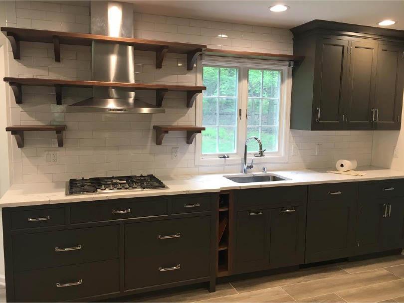 Kitchen renovation by Tri-State Stone & Tile Inc in Rockaway NJ