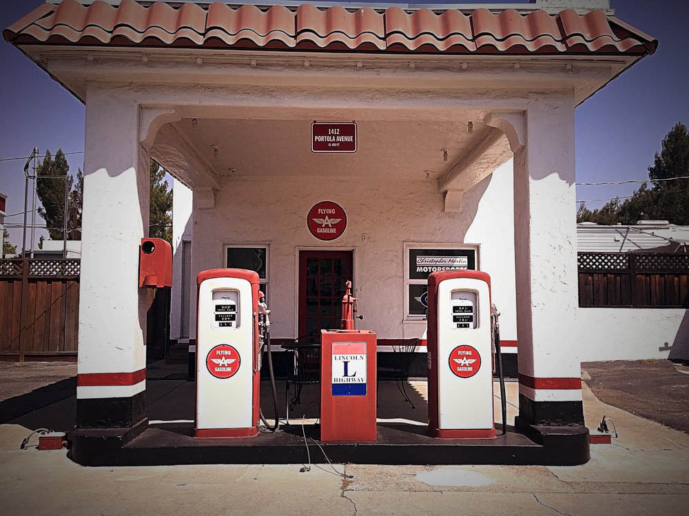 old gas pumps in Livermore CA
