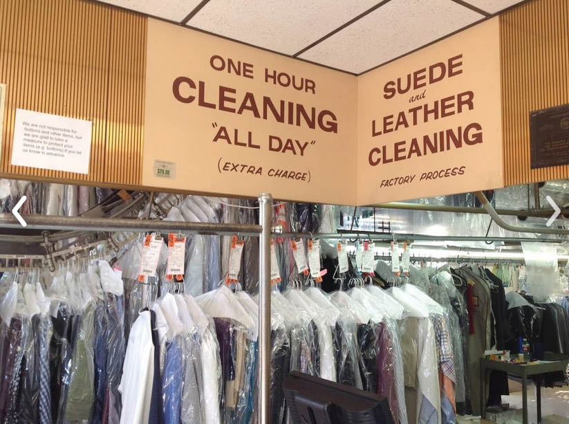 Triangle cleaners laundry professional dry cleaning laundry service expert alterations
