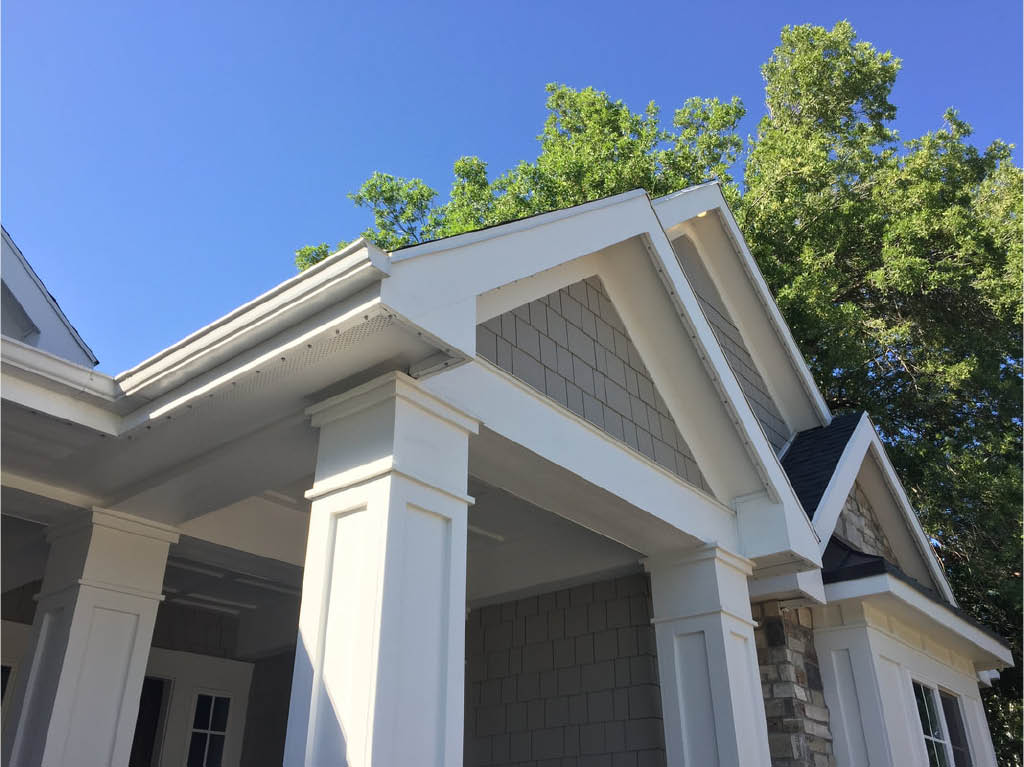 The outdoor LED lighting that Trimlight Select installs is invisible by day and bright and beautiful at night! - Connections Unlimited - Puyallup, WA - programmable and permanent LED lighting for outdoors