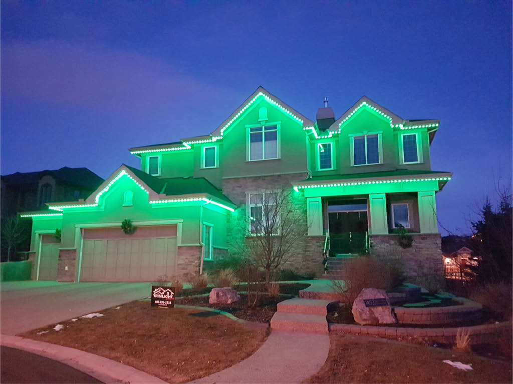 Trimlight Select - permanent color changing LED outdoor lighting - programmable outdoor LED lighting - Connections Unlimited in Puyallup, Washington