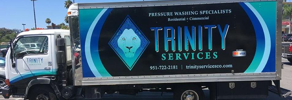 Trinity Services Co. in California banner