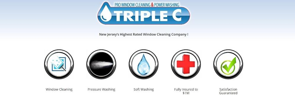 Triple C Window Cleaning Banner