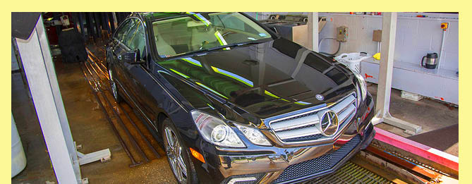 Drive out with a clean car shine after a wash and wax at Tropical