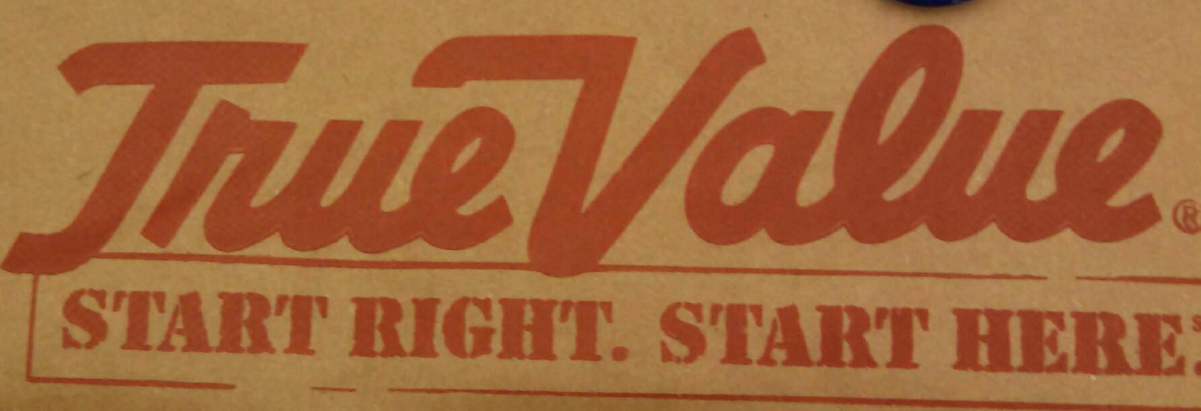 Reinman's True Value Burlington and Salem banner