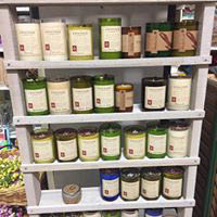 Lawn & garden products line the shelves at True Value