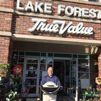 Exterior of True Value in Lake Forest, IL