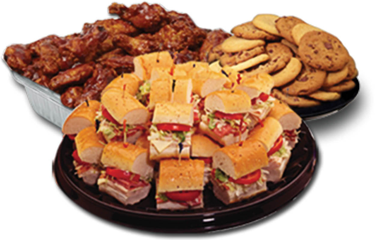 photo of catering platters from Tubby's in Shelby Township, MI