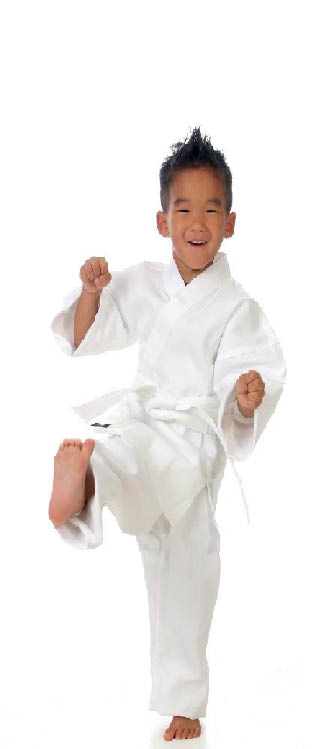 Learn how to karate kick at our martial arts classes