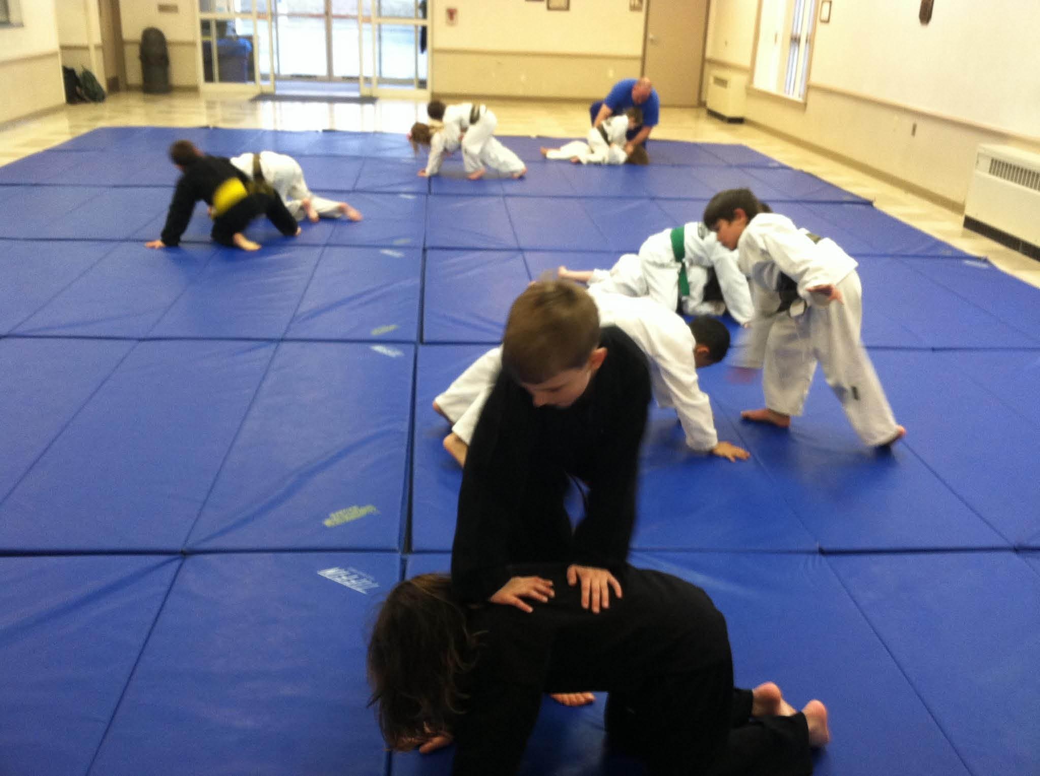 Kids learn jiu-jitsu and karate studio in Pawling & Patterson NY