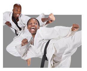 photo of men performing martial arts at Ultimate Protector Martial Arts Academy in Livonia, MI
