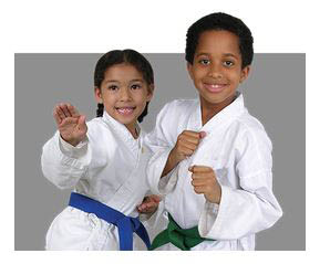 photo of children performing martial arts at Ultimate Protector Martial Arts Academy in Livonia, MI