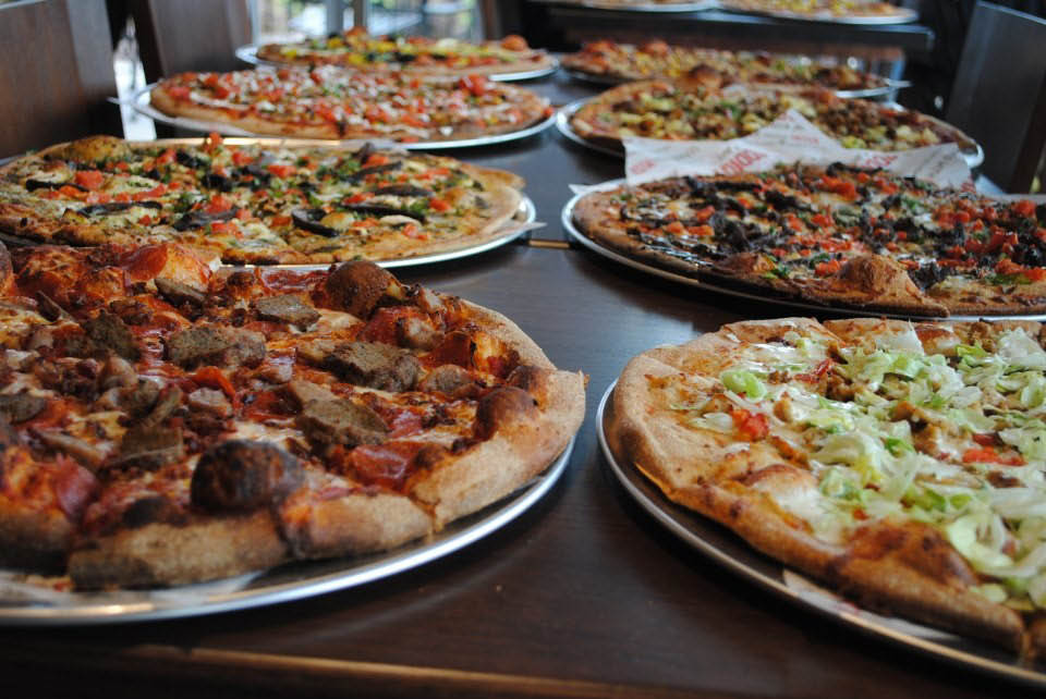 You take it, we make it at Uncle Maddio's Pizza in Savannah, GA