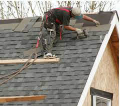 Roof repair done by Roofing Unlimited in the Baltimore area