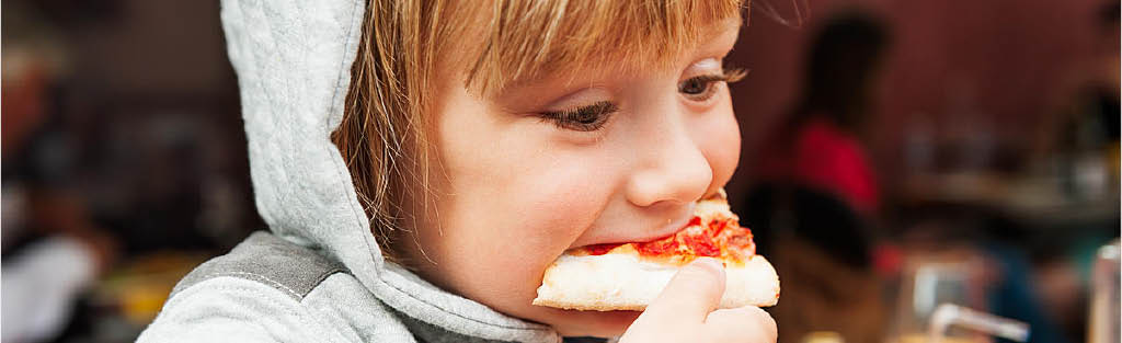 Kids love eating at Urban Pizza VIP in Seattle, WA - pizza restaurants near me - Seattle pizza coupons near me