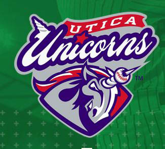 logo of the Utica Unicorns professional baseball team