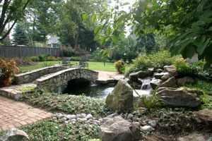 Landscape design near Manihui