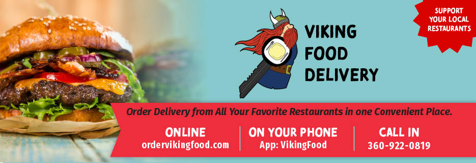 viking food delivery, bellingham, ferndale, lynden, whatcom county, covid