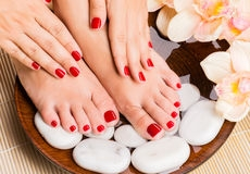 Try a mani-pedi combo to look your best