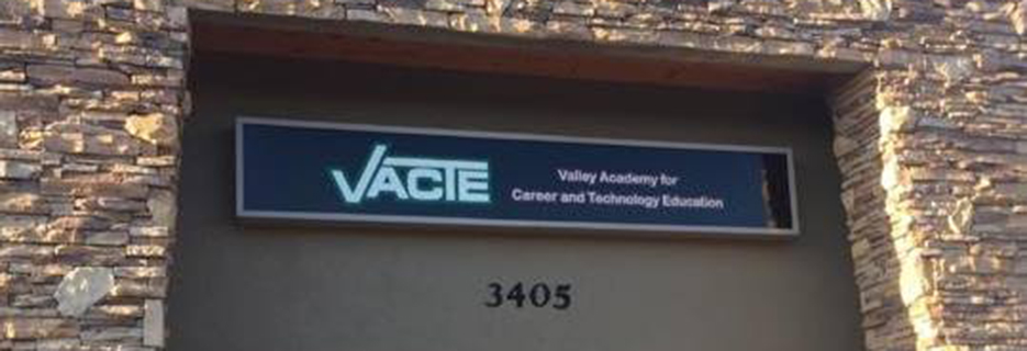Valley Academy for Career and Technology Education banner Cottonwood, AZ
