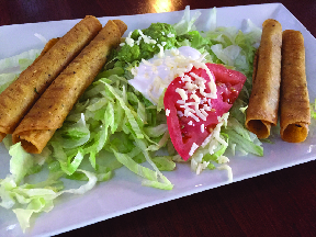 Flautas real mexican food real MExican food near me