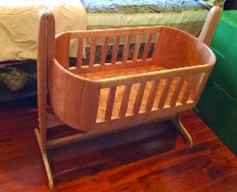 wood cradle