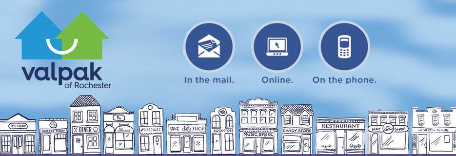 Valpak Rochester NY your local direct mail advertising digital marketing company