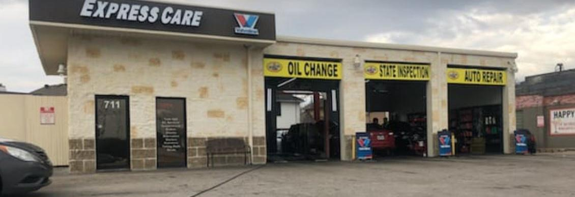 Valvoline Express Care in Plano, TX banner