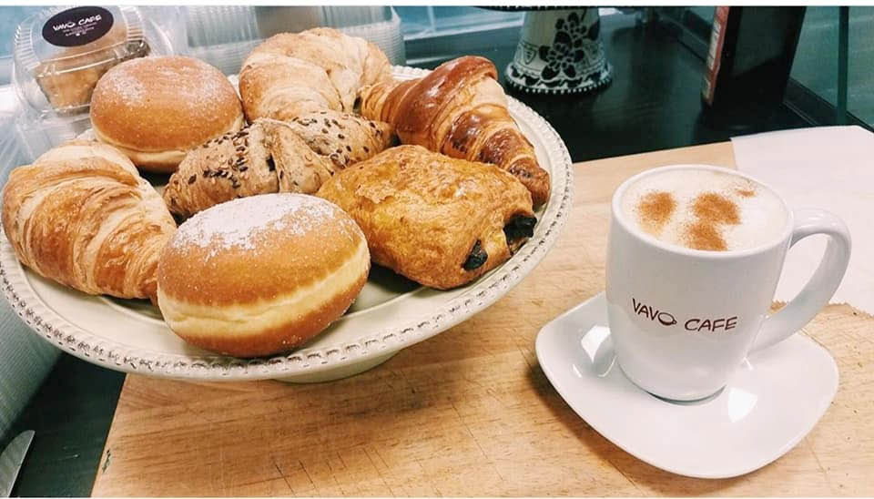 Homemade Pastries and Coffee from Vavo Cafe in Randolph NJ