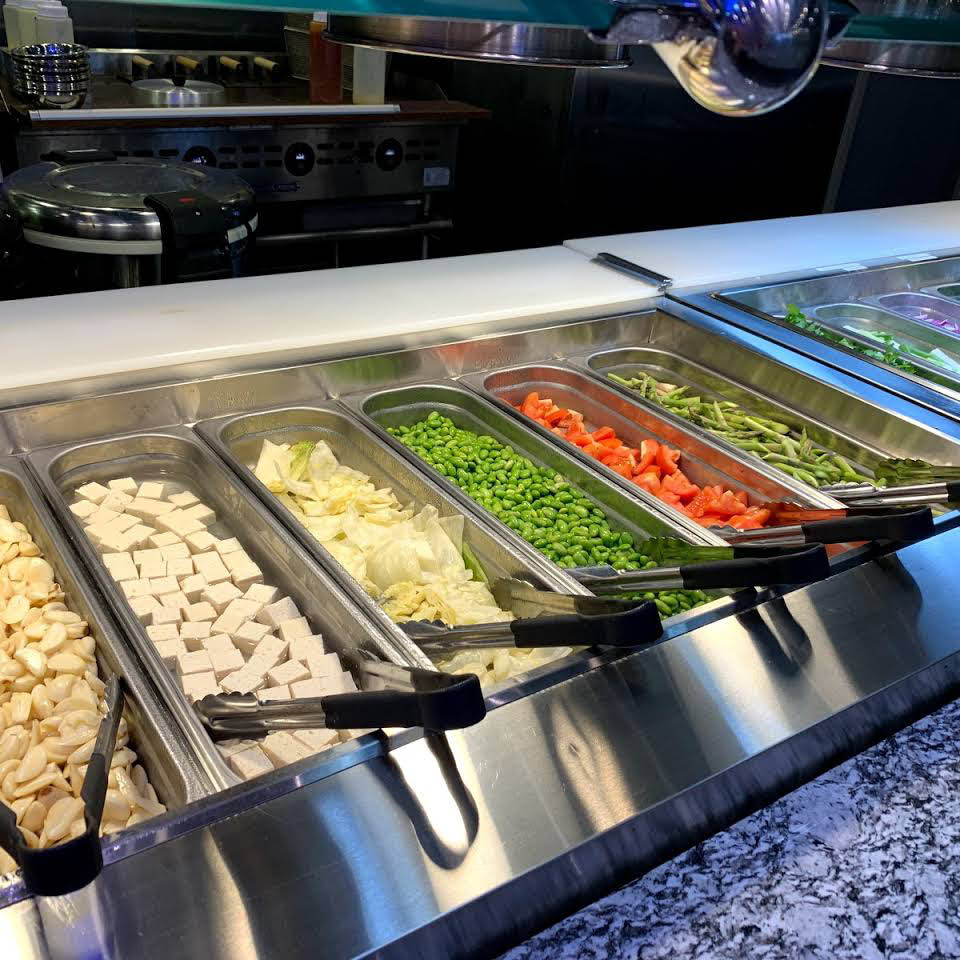 tokyo gill sushi hibachi buffet steamed vegetables centerville ohio