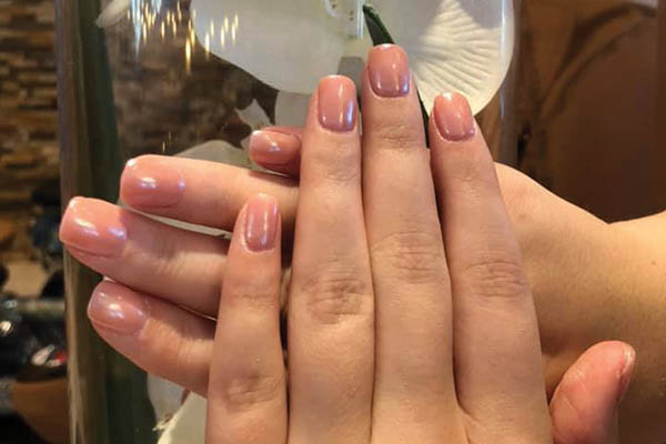 Lovely manicure nails