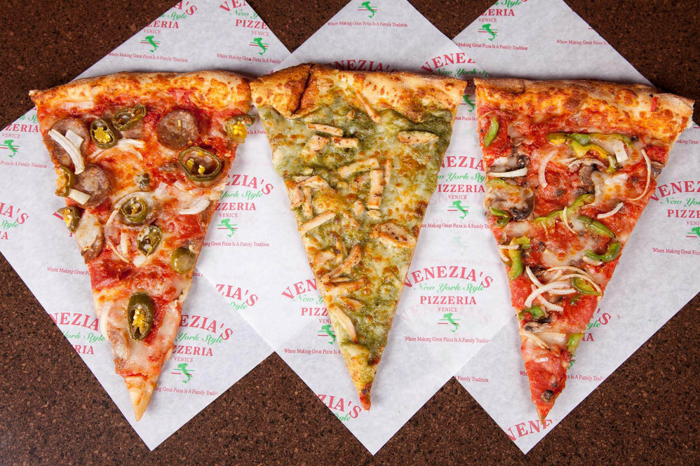 Venezia's New York Style Pizza Best Slice Tempe AZ Gilbert AZ Mesa AZ