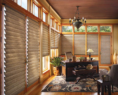 VERTICAL ELEGANCE wood blinds, vertical blinds Rochester NY