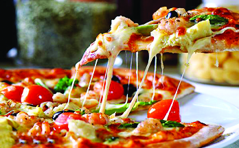Specialty pizza at Victor's Pizza & Restaurant in New City