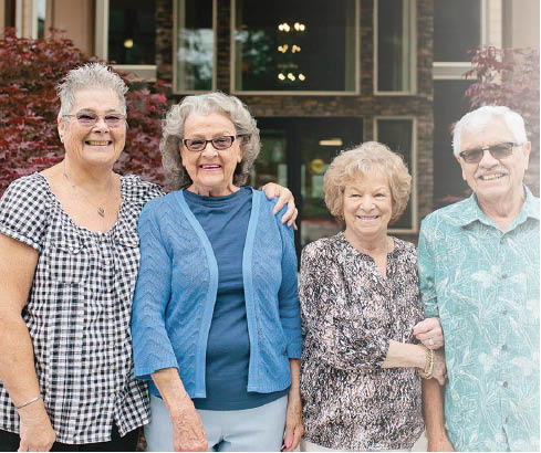 People are happy living at Village Concepts of Issaquah Spiritwood Garden Homes - Issaquah, WA  retirement communities near me - retirement homes near me