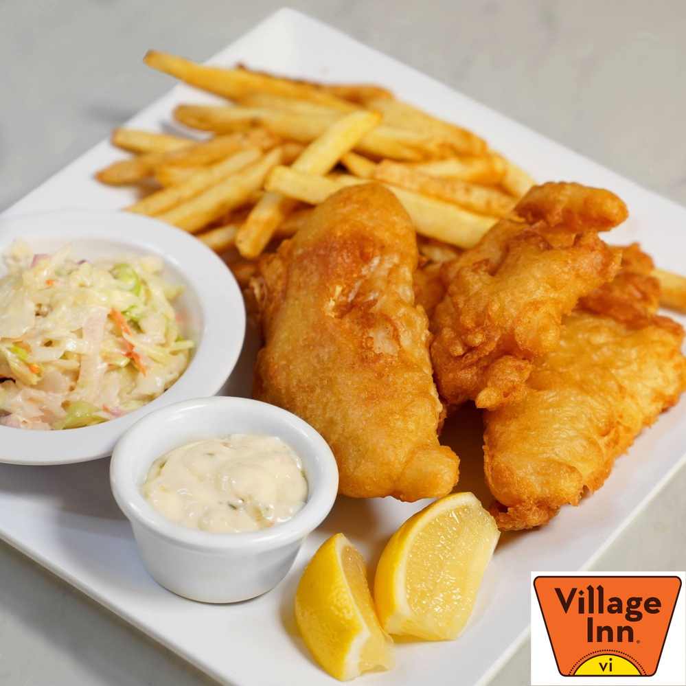 fish & chips village inn restaurant Greater Tampa Bay area  florida