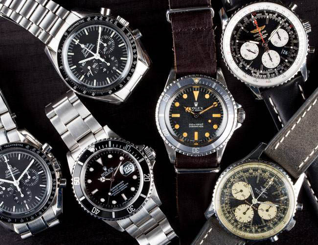 We buy and sell high value watches